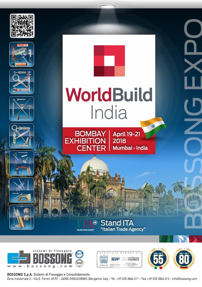 Mumbai World build India 2018 Bossong